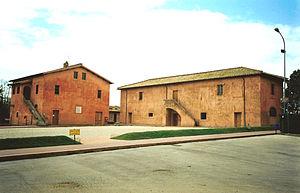 La Cascina Antica (right), the place of Maria'...