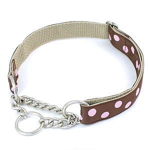 Chain Martingale Dog Collar by http://www.Pink...