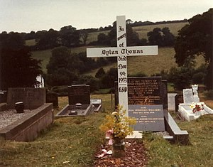 English: Dylan Thomas Gravesite Dylan Thomas's...