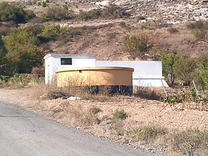 Español: Bocos de Duero. Centro de tratamiento...