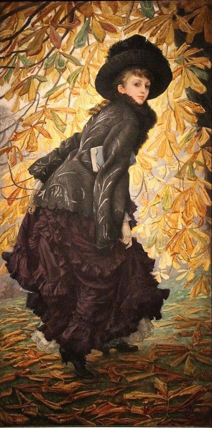 """""""October"""" by James Tissot"""