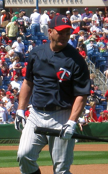 Thome with the Twins