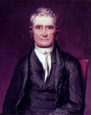 Chief Justice John Marshall established a broa...