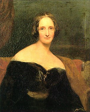 English: Mary Shelley (née Mary Wollstonecraft...