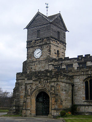 The Parish Church of St Leonard, Middleton, Gr...