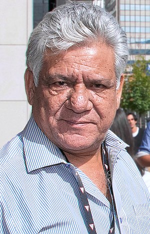 English: Om Puri at the 2010 Toronto Internati...