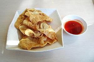 Pangsit Goreng (fried wonton) Gajah Mada, Jaka...