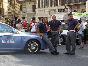 Polizia di Stato Squadra volanti in Rome