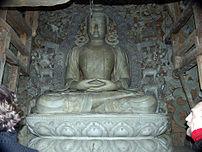 Scenes of Inner Taksang, temple hall, built ju...