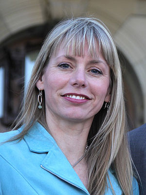Acting Leader of the Alberta Party Sue Huff an...