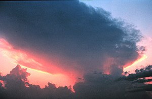 Thunderstorm anvil - NOAA