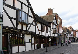 Some of several Tudor period buildings in Worc...
