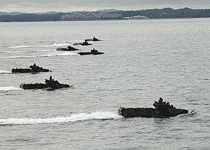 SOUTH CHINA SEA (May 6, 2010) Marine amphibiou...