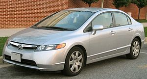 2006-2008 Honda Civic photographed in USA. Cat...