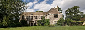 View of Avebury Manor from the south on a sunn...