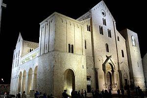 Italy, Apulia, Basilica di San Nicola, Bari.