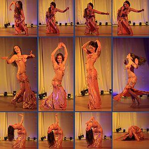 English: Belly dance Русский: Танец живота в ЦКиОМ