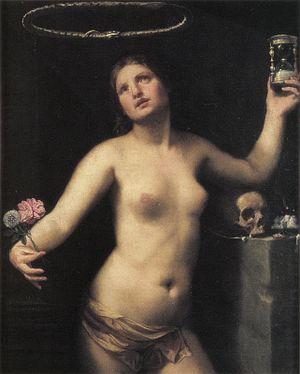 Allegoria della vita umana, Ol/tl, 110 x 86,5,...