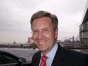 Deutsch: Christian Wulff, seit 2003 Ministerpr...