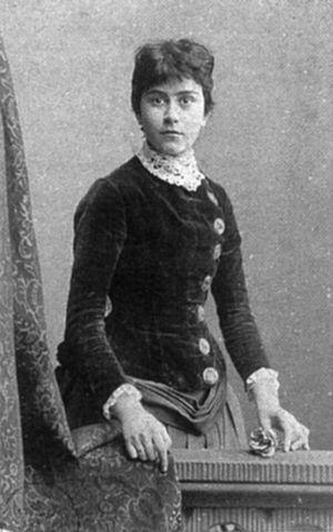 Else Lasker-Schüler ca. 1890