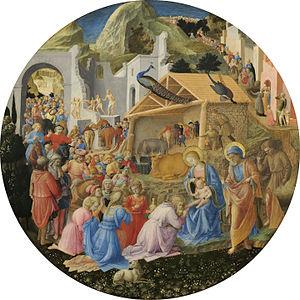 Fra Filippo Lippi - Adoration of the Magi - WG...