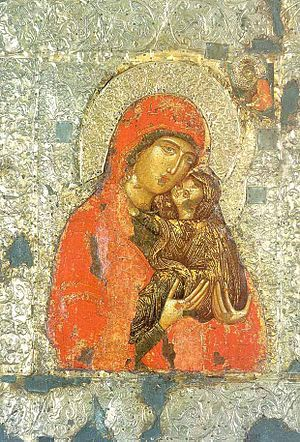 Saint Anne with child Mary (Св. Анна с младенц...