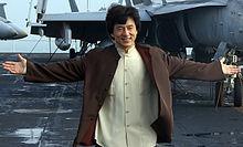 El actor de Hong Kong Jackie Chan