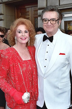 Steve Allen and wife Jayne Meadows at the 39th...