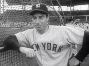 English: New York Yankees slugger during the N...