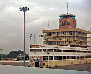 English: Arrival Gate of Kotoka International ...