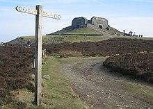 Offa's Dyke Path am Moel Fammau
