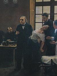 Jean-Martin Charcot estableció la relación entre espiritismo e histeria en 1880.