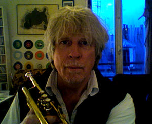 A self-portrait photograph by and of Rhys Chatham.