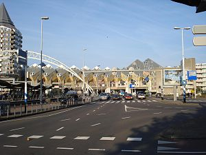 Nederlands: Blaak, straat in Rotterdam.