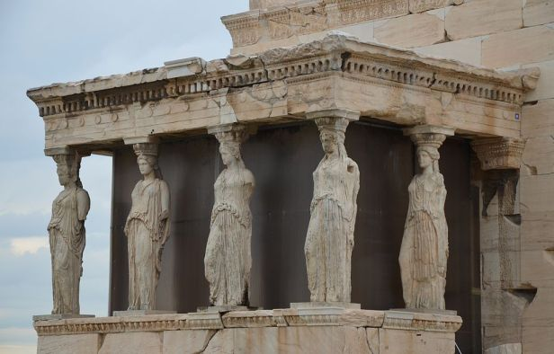 The Porch of the Caryatids, The Erechtheion, Acropolis of Athens