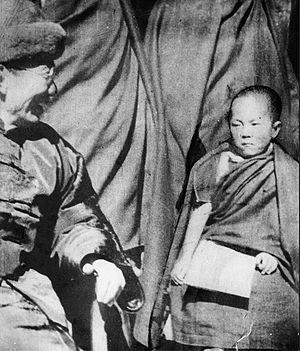 Tibet's Dalai Lama in 1940