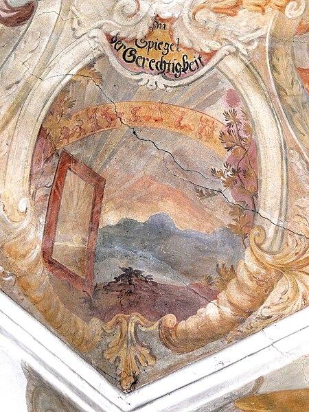 File:Altenmarkt Kapelle - Spiegel der Gerechtigkeit.jpg