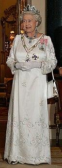 Elizabeth II, Buckingham Palace, 07 Mar 2006