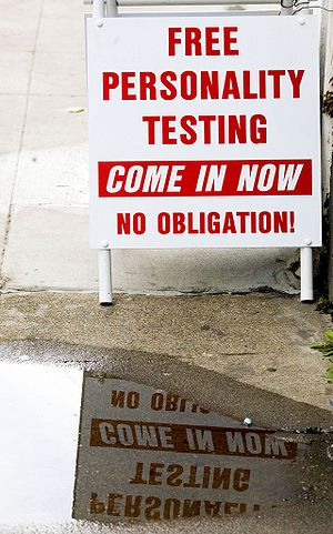 """Scientology - """"Free personality testing&q..."""