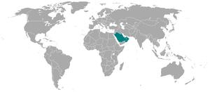 GCC map