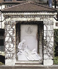 Grave of Henry Dunant.