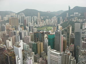 The Happy Valley in Hong Kong