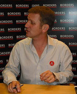Jeremy Kyle at a book signing in Borders Bristol