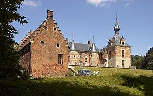 Castle in Leefdaal, Belgium