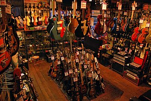 Music Ground, 27 Denmark Street, Covent Garden...
