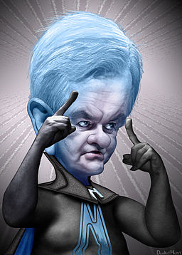 Newt Gingrich Caricature