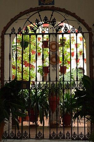 Patio cordobés, Córdoba, España.