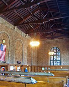 Poughkeepsie Train Station Interior