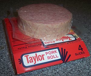 English: A package of Taylor pork roll (Taylor...