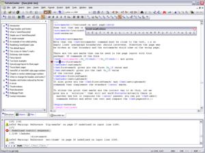 TeXnicCenter screenshot